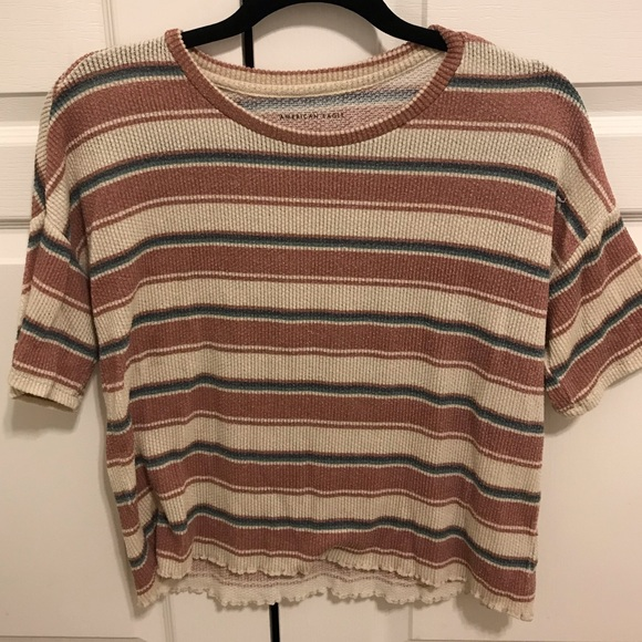 American Eagle Outfitters Tops - American Eagle striped shirt